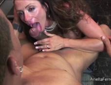 Ariella Ferrera in Suck My Dick Bitch with Dirk Huge Clip#3