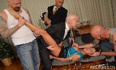 Ariella Ferrera the Gangbang Office Whore